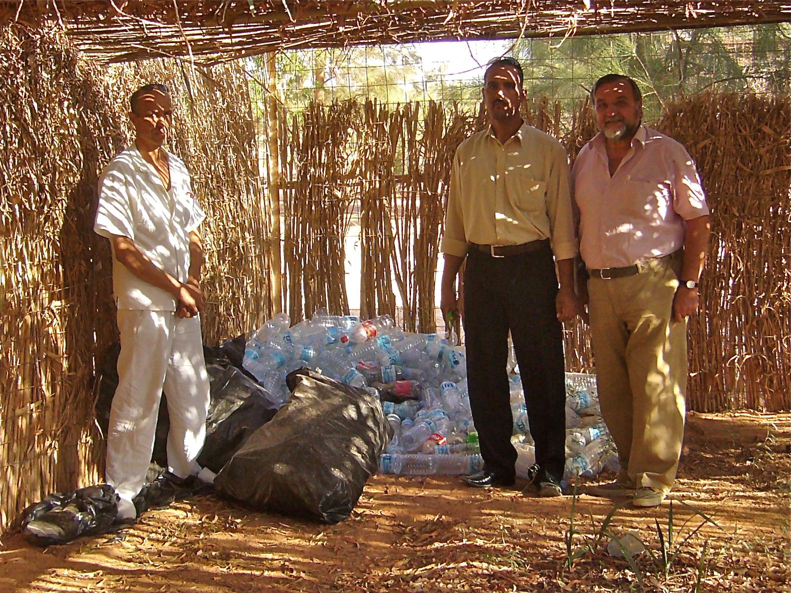 Success with bottle gardening in Tindouf nursery (UNICEF