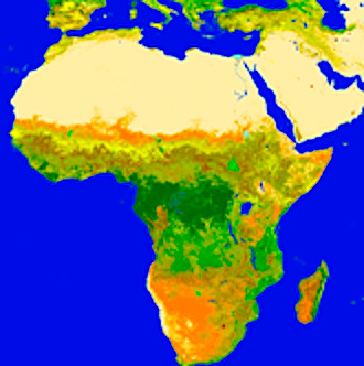 Earth Observation (EO) data for desertification indicators