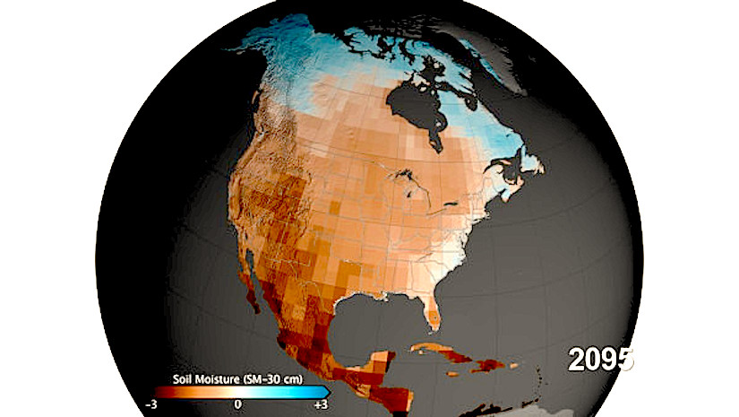 Drought And Desertification In The USA DESERTIFICATION - Desertification Us Soil Erosion Map Us