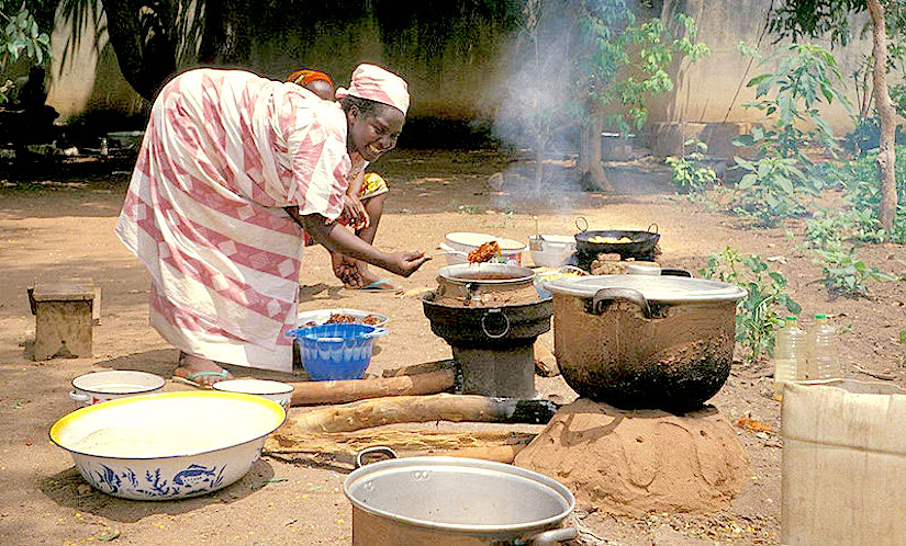 Improved biomass stoves to savefirewood