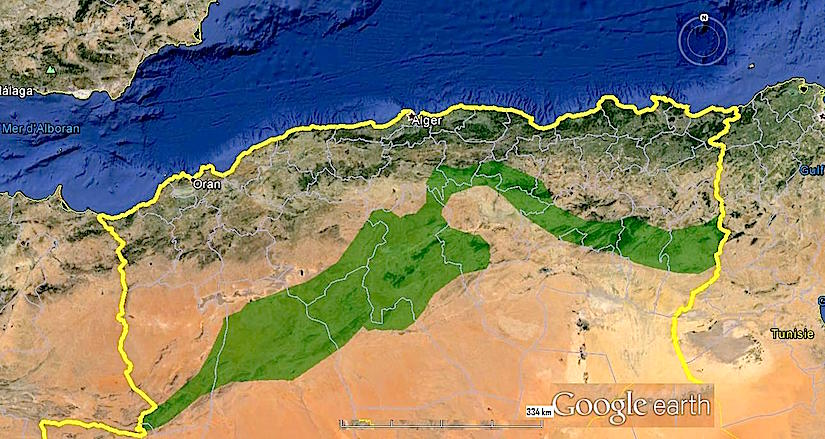 The Great Green Wall in Algeria