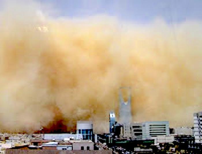 March 10, 2009 - Sandstorm engulfing Riyahd, Saudi Arabia - http://4.bp.blogspot.com/_k_8xL5aVJaw/SbvORbWd--I/AAAAAAAAAaE/HxDTOhi4AF8/s200/10gfriyadhstorm1ap5.jpg