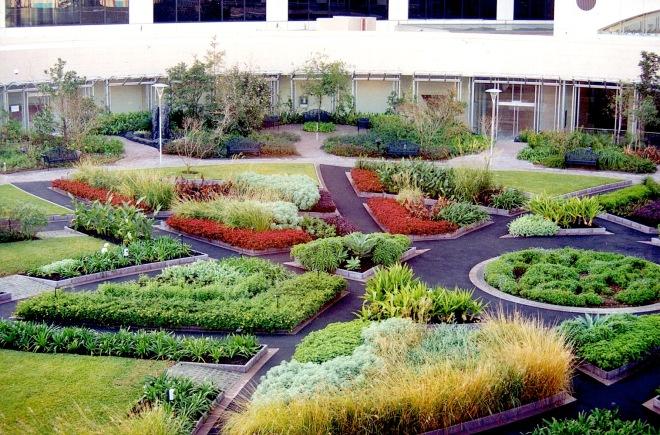 Photo WVC 1999-06: Sydney Darling Harbour rooftop garden