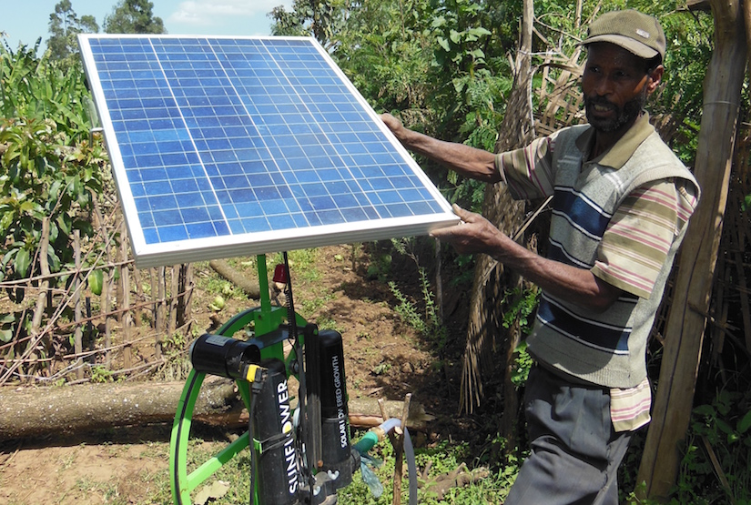 Solar pumps in Ethiopia