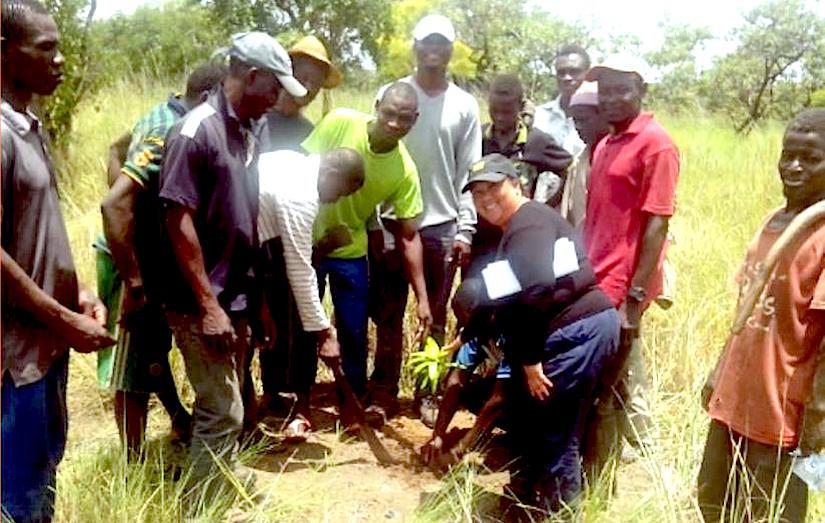 Communal Fruit Tree Plantations to CombatDesertification