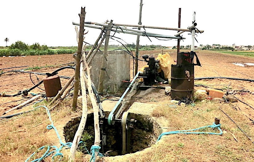 Over-abstraction of groundwater